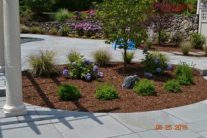 Dolan & Company flower bed patio
